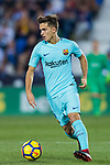 Denis Suarez Fernandez of FC Barcelona in action during the La Liga 2017-18 match between CD Leganes vs FC Barcelona at Estadio Municipal Butarque on November 18 2017 in Leganes, Spain. Photo by Diego Gonzalez / Power Sport Images