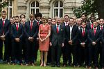 Diables Rouges retour à Bruxelles après le Mondial du Brésil