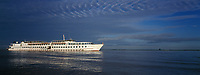 Asie/Birmanie/Myanmar/Haute Birmanie/Mandalay: Navigation sur L'Irrawaddy