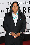 Arthur Redcloud arriving at the world premiere of The Revenant held at TCL Chinese Theater Hollywood, CA. December 16, 2015.