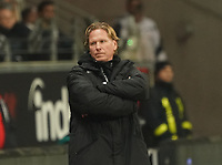Trainer Markus Gisdol (1. FC Koeln) - 18.12.2019: Eintracht Frankfurt vs. 1. FC Koeln, Commerzbank Arena, 16. Spieltag<br /> DISCLAIMER: DFL regulations prohibit any use of photographs as image sequences and/or quasi-video.