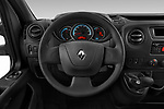 Car pictures of steering wheel view of a 2019 Renault Master-Z.E. Base 4 Door Cargo Van