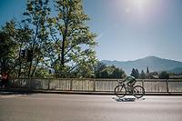 Svetlana Pachshenko (KAZ)<br /> <br /> WOMEN JUNIOR ROAD RACE<br /> Rattenberg to Innsbruck: 71.7 km<br /> <br /> UCI 2018 Road World Championships<br /> Innsbruck - Tirol / Austria