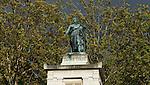 Paris - France, October 12, 2012 -- Cemetery Père Lachaise, statue of Casimir Perier -- Photo: © HorstWagner.eu