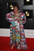 LOS ANGELES, CA - FEBRUARY 10: Tierra Whack at the 61st Annual Grammy Awards at the Staples Center in Los Angeles, California on February 10, 2019. Credit: Faye Sadou/MediaPunch