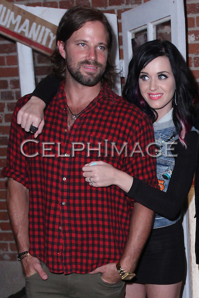 RICKY JACKSON, KATY PERRY.  CD release party of the self-titled debut of Los Angeles trio, The Daylights, at Club L in West Hollywood, CA, USA. ©CelphImage