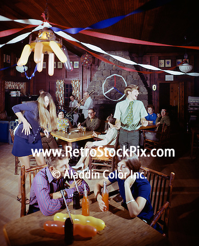 American Legion Mountain Resort, Teens dancing & drinking soda