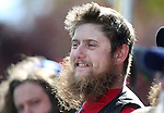 David Clemensen competes in the Nevada Day Beard Competition in Carson City, Nev., on Saturday, Oct. 31, 2015. <br /> Photo by Cathleen Allison