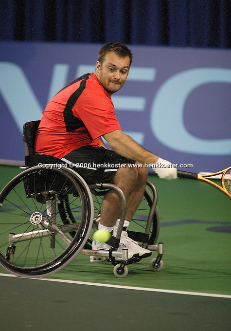 18-11-06,Amsterdam, Tennis, Wheelchair Masters, David Wagner