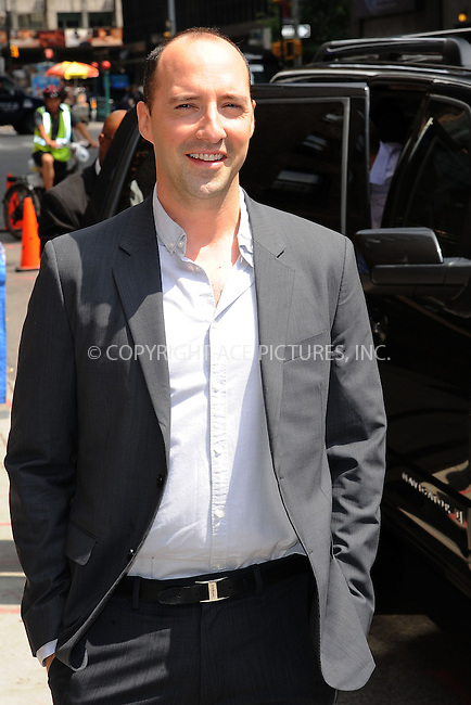 WWW.ACEPIXS.COM . . . . . <br /> July 10, 2013...New York City<br /> <br /> Tony Hale arrives to tape an appearance on the Late Show with David Letterman on July 10, 2013  in New York City.<br /> <br /> Please byline: Kristin Callahan - ACEPIXS.COM.. . . . . . ..Ace Pictures, Inc: ..tel: (212) 243 8787 or (646) 769 0430..e-mail: info@acepixs.com..web: http://www.acepixs.com