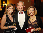From left: Emily Aguilar with Dr. Richard Smalling and his wife Sharon at the American Heart Association Heart Ball at the Hilton Americas Houston Saturday Feb 07, 2009.(Dave Rossman/For the Chronicle)