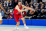 CSKA Moscow Alec Peters during Turkish Airlines Euroleague match between Real Madrid and CSKA Moscow at Wizink Center in Madrid, Spain. November 29, 2018. (ALTERPHOTOS/Borja B.Hojas)