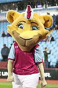 12th September 2017, Villa Park, Birmingham, England; EFL Championship football, Aston Villa versus Middlesbrough; Aston Villa mascot walking round the pitch