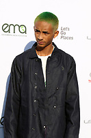 LOS ANGELES - SEP 23:  Jaden Smith at the 27th Environmental Media Awards at the Barker Hangaer on September 23, 2017 in Santa Monica, CA