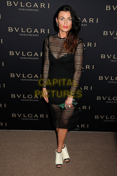 25 February 2014 - West Hollywood, California - Lyne Ren&eacute;e, Lyne Renee. BVLGARI &quot;Decades of Glamour&quot; Oscar Party held at Soho House.<br /> CAP/ADM/BP<br /> &copy;Byron Purvis/AdMedia/Capital Pictures