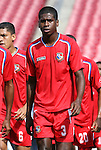 15 March 2008: Reinaldo Anderson (PAN). The Panama U-23 Men's National Team defeated the Cuba U-23 Men's National Team 4-1 at Raymond James Stadium in Tampa, FL in a Group A game during the 2008 CONCACAF's Men's Olympic Qualifying Tournament.