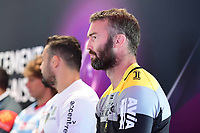 James Eaton of La Rochelle during the European Rugby Champions Cup and Challenge Cup 2017/2018 season launch for Top14 clubs on October 4, 2017 in Paris, France. (Photo by Dave Winter/Icon Sport)