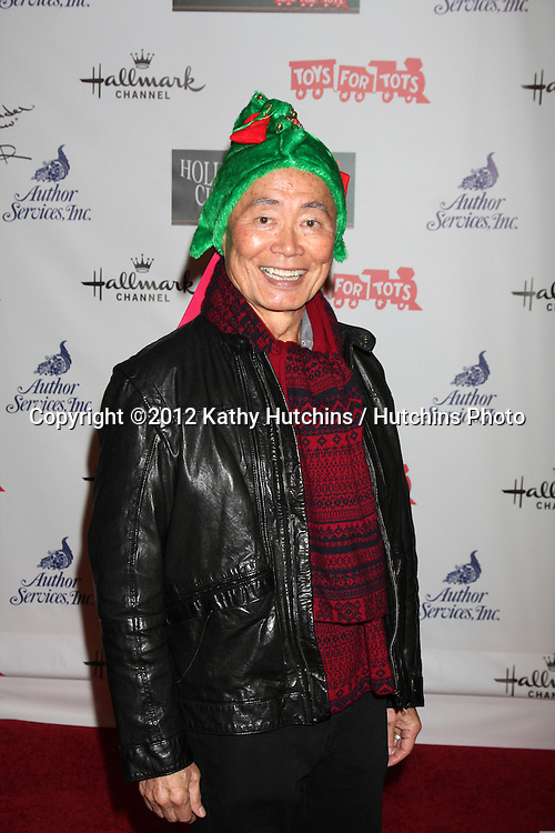 LOS ANGELES - NOV 25:  George Takei arrives at the 2012 Hollywood Christmas Parade at Hollywood & Highland on November 25, 2012 in Los Angeles, CA