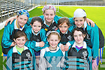 The Black Valley NS girls who played in the final of the Cumann na mBunscoil County mini-sevens finals in Fitzgerald Stadium, Killarney on Friday front row: Caoimhe O'Donoghue, Louise O'Connor, Emer Doyle. Back row: Hannah O'Donoghue, Aoibha O'Shea, Fay O'Donoghue, Melanie Smith and Fiadhna Tangney....