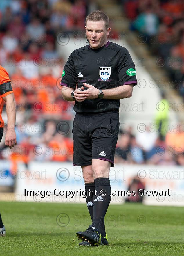 Referee John Beaton.