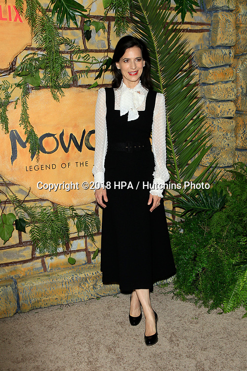 """LOS ANGELES - NOV 28:  Perrey Reeves at the """"Mowgli: Legend of the Jungle"""" Premiere at the ArcLight Theater on November 28, 2018 in Los Angeles, CA"""