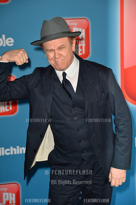 """LOS ANGELES, CA. November 05, 2018: John C. Reilly at the world premiere of """"Ralph Breaks The Internet"""" at the El Capitan Theatre.<br /> Picture: Paul Smith/Featureflash"""