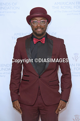 "WILL.I.AM.attends fund raiser dinner for the Foundation of the Duke and Duches of Cambridge and Prince Harry at the Four Season Restaurant, New York_14/05/2103.Prince Harry is on a week long USA visit the includes Washington, Denver, Colorado Springs, New Jersey, New York and Conneticut..Mandatory credit photo:©DIASIMAGES..NO UK USE UNTIL 13/5/2013.(Failure to credit will incur a surcharge of 100% of reproduction fees)..**ALL FEES PAYABLE TO: ""NEWSPIX  INTERNATIONAL""**..Newspix International, 31 Chinnery Hill, Bishop's Stortford, ENGLAND CM23 3PS.Tel:+441279 324672.Fax: +441279656877.Mobile:  07775681153.e-mail: info@newspixinternational.co.uk"