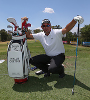 Wallie Coetsee (RSA) on the range during the preview of the Tshwane Open 2015 at the Pretoria Country Club, Waterkloof, Pretoria, South Africa. Picture:  David Lloyd / www.golffile.ie. 10/03/2015