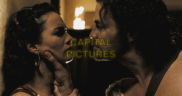 LENA HEADEY & DOMINIC WEST.in 300 (Frank Miller's 300) .**Editorial Use Only**.CAP/FB.Supplied by Capital Pictures