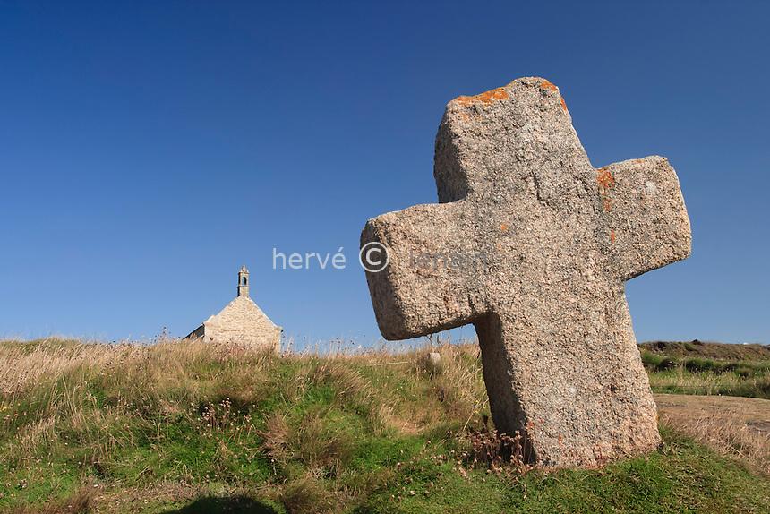 France, Finistère (29), Landuvez, la chapelle Saint-Samson // France, Finistere, Landuvez, chapel Saint-Samson