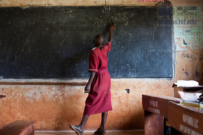 Oct. 13, 2009; St. Jude Primary School near Jinja, Uganda..Photo by Matt Cashore/University of Notre Dame