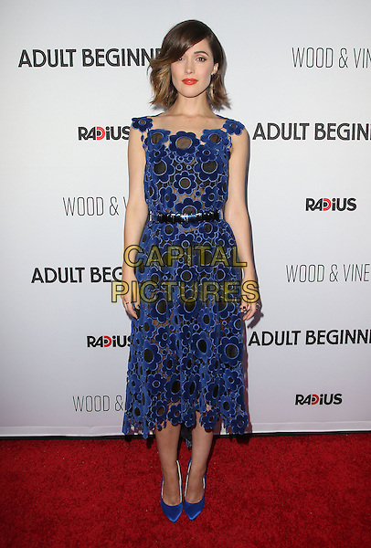 15 April 2015 - Hollywood, California - Rose Byrne. &quot;Adult Beginners&quot; Los Angeles Premiere held at Arclight Cinemas. <br /> CAP/ADM/FS<br /> &copy;FS/ADM/Capital Pictures