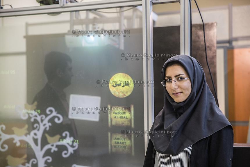 laboratorio di realtà virtuale del Politecnico di Teheran virtual reality laboratory of Teheran University Polytechnic, i due creatori di un progetto di realtà aumentata