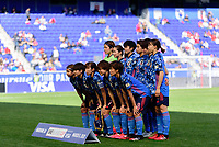 HARRISON, NJ - MARCH 08: Japan Starting Eleven during a game between England and Japan at Red Bull Arena on March 08, 2020 in Harrison, New Jersey.