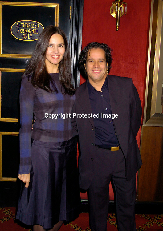 "Caroline and Jellybean Benitez ..at The New York Premiere of "" Alfie"" on October 18, 2004 ..at The Ziegfeld Theatre. ..Photo by Robin Platzer, Twin Images"