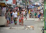 A street in the Tondo neighborhood of Manila, Philippines.