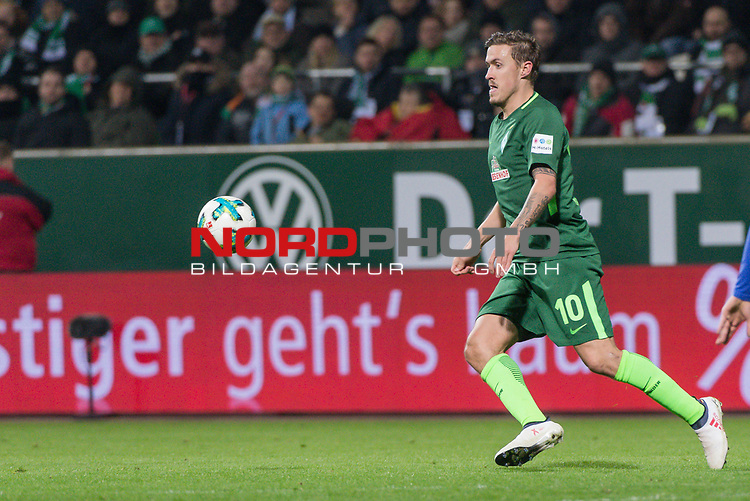 27.01.2018, Weser Stadion, Bremen, GER, 1.FBL, Werder Bremen vs Hertha BSC Berlin, im Bild<br /> <br /> Max Kruse (Werder Bremen #10)<br /> Foto &copy; nordphoto / Kokenge