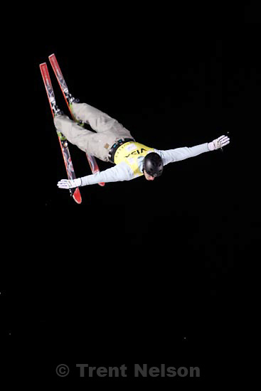 Trent Nelson  |  The Salt Lake Tribune.Anton Kushnir, Belarus, Aerials competition, Freestyle FIS World Cup at Deer Valley Friday, January 15, 2010.