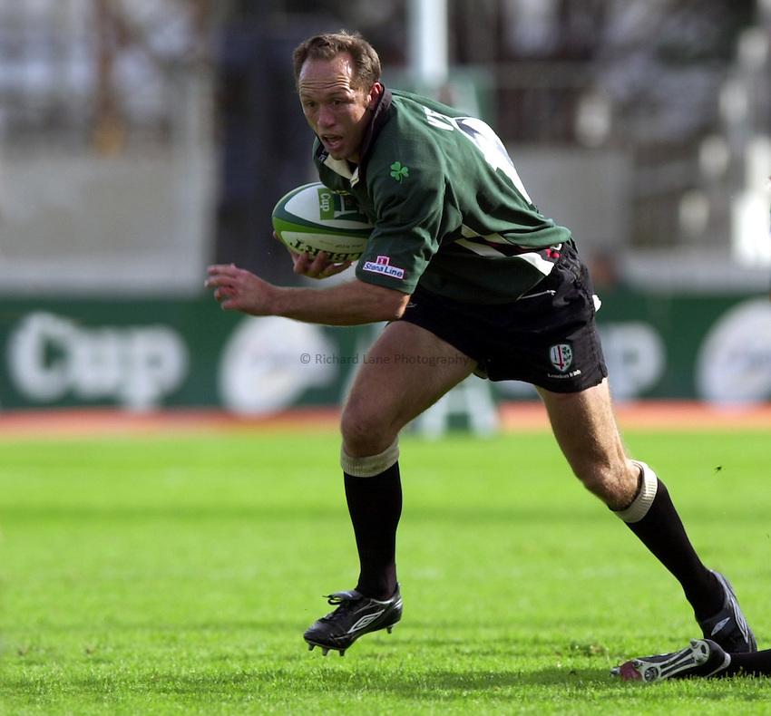 Photo. Richard Lane. .Toulouse v London Irish. Heineken Cup. 12-10-2002..Brendan Venter