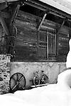 French Barn taken in Morzine, France, Near Lake Montriond