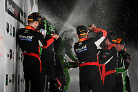IMSA WeatherTech SportsCar Championship<br /> Motul Petit Le Mans<br /> Road Atlanta, Braselton GA<br /> Saturday 7 October 2017<br /> 31, Cadillac DPi, P, Dane Cameron, Eric Curran, Michael Conway, 2, Nissan DPi, P, Scott Sharp, Ryan Dalziel, Brendon Hartley, 6, ORECA LMP2, P, Helio Castroneves, Simon Pagenaud, Juan Pablo Montoya<br /> World Copyright: Richard Dole<br /> LAT Images<br /> ref: Digital Image RDPLM468