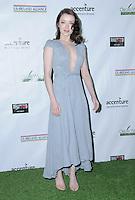 23 February 2017 - Santa Monica, California - Sarah Bolger.  2017 Oscar Wilde Awards held at Bad Robot. Photo Credit: Birdie Thompson/AdMedia