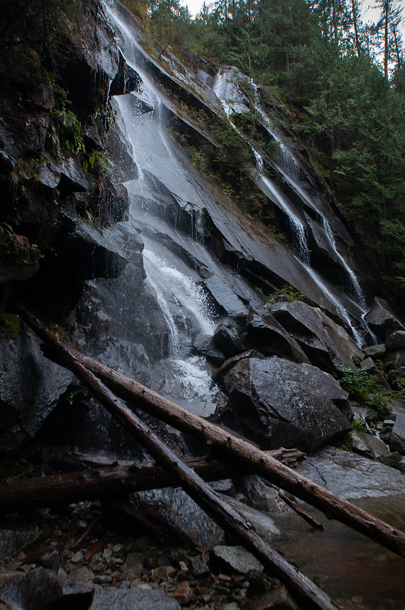 Little Bridal Veil Falls, Lake Serene Trail, Mt. Baker-Snoqualmie National Forest, Washington, US
