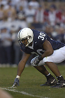 05 November 2005:  BranDon Snow..The Penn State Nittany Lions defeated the Wisconsin Badgers 35-14 November 5, 2005 at Beaver Stadium in State College, PA..