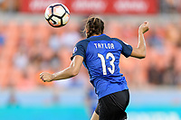 Houston, TX - Sunday August 13, 2017:  Brittany Taylor during a regular season National Women's Soccer League (NWSL) match between the Houston Dash and FC Kansas City at BBVA Compass Stadium.