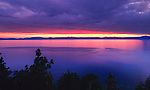 Sunrise over Lake Tahoe, California