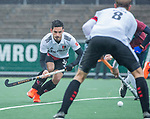 AMSTELVEEN -  Tanguy Cosyns (Adam) tijdens de hoofdklasse competitiewedstrijd mannen, Amsterdam-HCKC (1-0).  COPYRIGHT KOEN SUYK