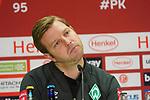 18.01.2020, Merkur Spielarena, Duesseldorf , GER, 1. FBL,  Fortuna Duesseldorf vs. SV Werder Bremen,<br />  <br /> DFL regulations prohibit any use of photographs as image sequences and/or quasi-video<br /> <br /> im Bild / picture shows: <br /> Pressekonferenz (PK) nach dem Spiel,  Florian Kohfeldt Trainer / Headcoach (Werder Bremen)<br /> <br /> Foto © nordphoto / Meuter