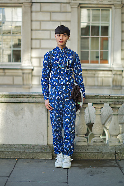 Pace Chen at London Fashion Week