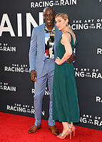 "LOS ANGELES, USA. August 02, 2019: McKinley Belcher III & Guest at the premiere of ""The Art of Racing in the Rain"" at the El Capitan Theatre.<br /> Picture: Paul Smith/Featureflash"